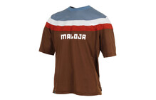 Maloja RayoM. Freeride Jersey Heren 1/2 bruin/blauw